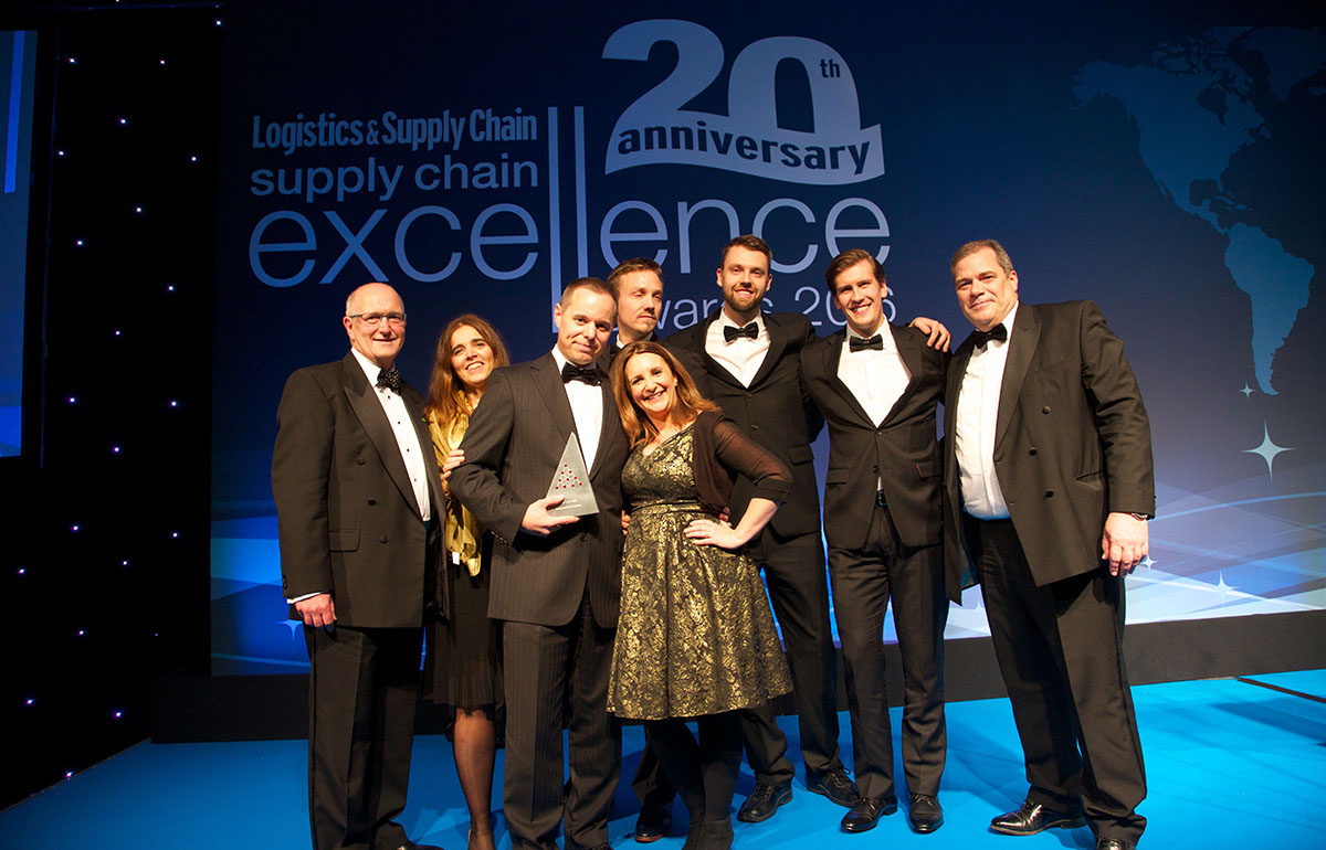 Supply Chain Visibility award winners